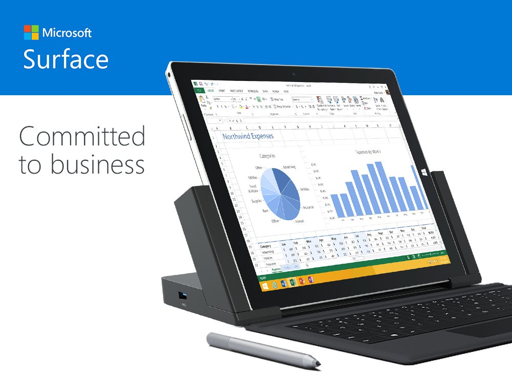 Microsoft Surface Enterprise Initiative – A good beginining